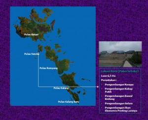 Lokasi Balai Budidaya Laut Batam